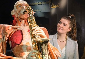Body Scan at BODY WORLDS Amsterdam