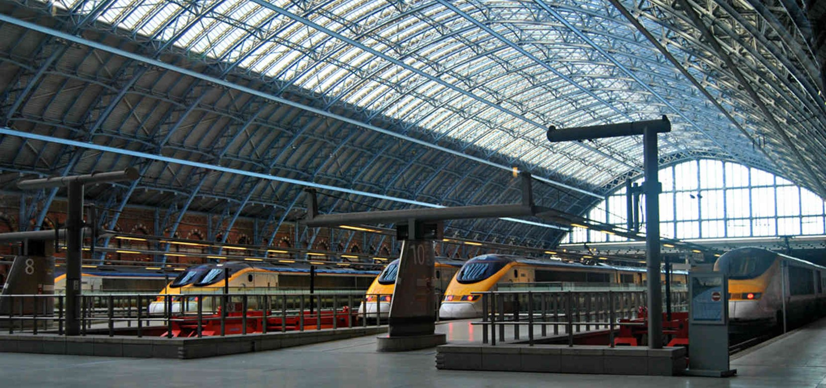 Eurostar London to Amsterdam