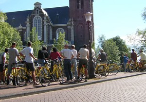 Amsterdam City Bike Tour Extended