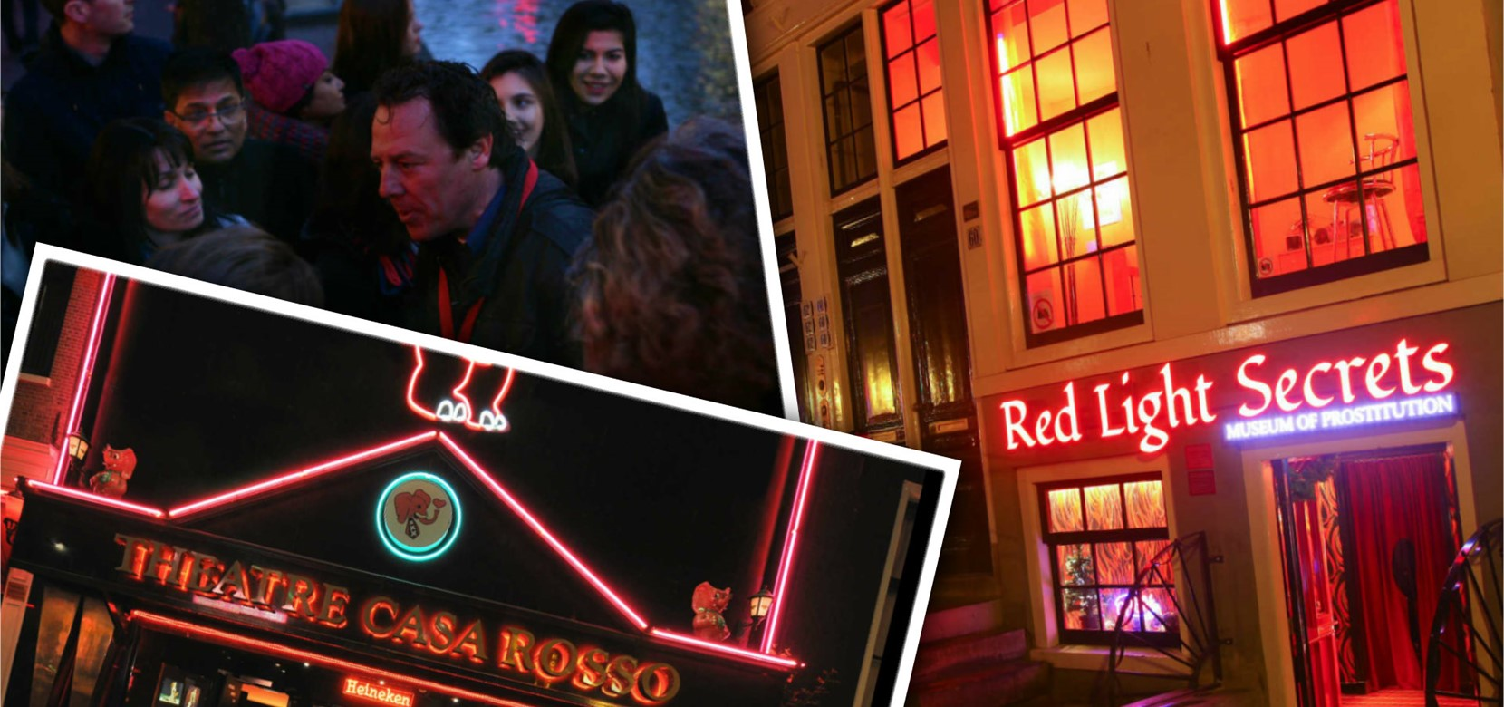 Red Light District Walking Tour + Erotic Museum + Casa Rosso