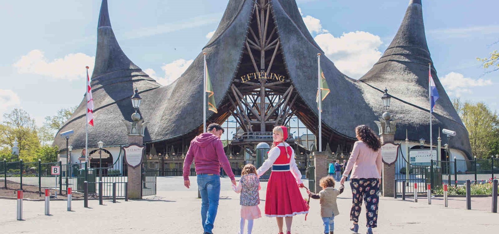 Efteling: entrance only (July and August)