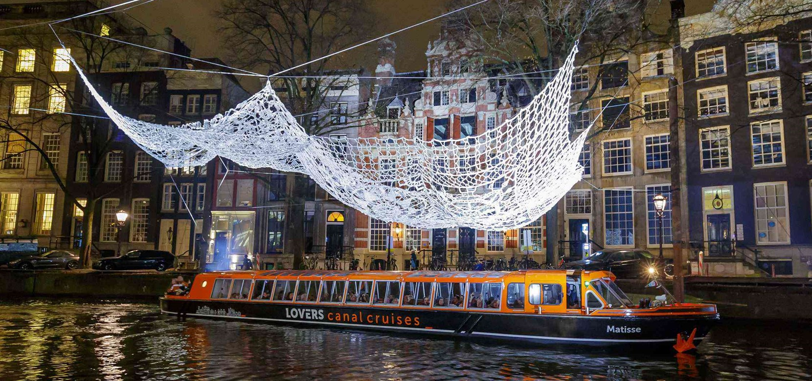 Amsterdam Light Festival Cruise - Anne Frank