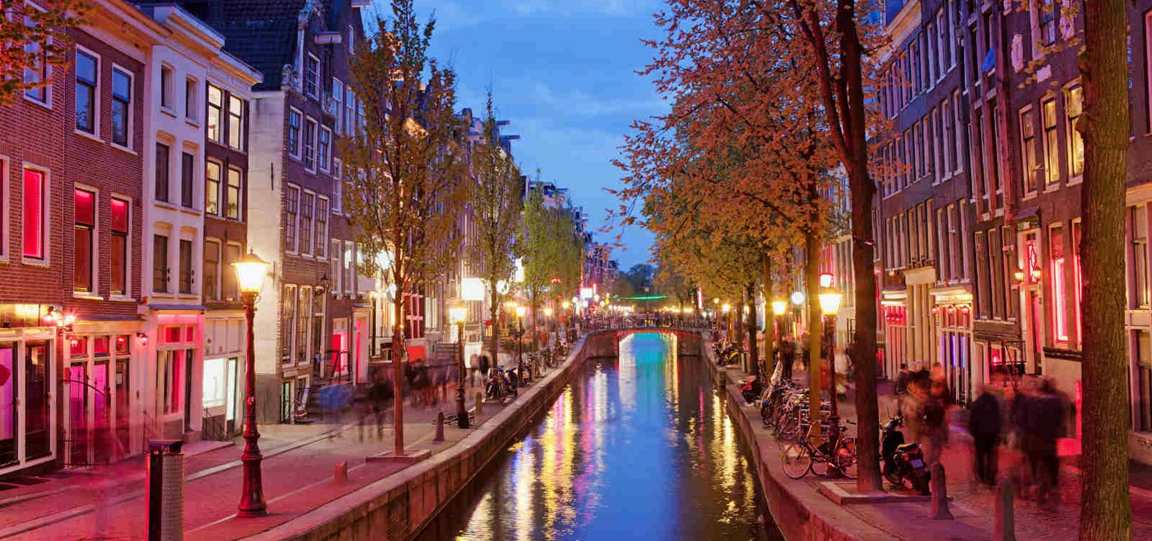 In the Red Light District, Amsterdam shows its other side