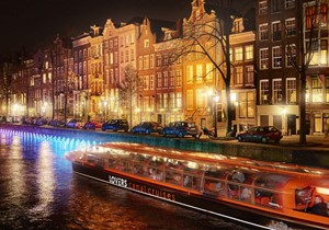 What is it about light and art that brings Amsterdam to life?