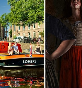 The Amsterdam Dungeon + 1 h. Amsterdam Canal Cruise
