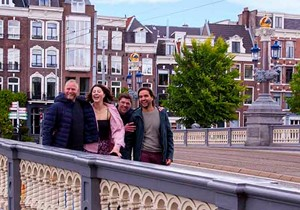 Outside and inside: Some Amsterdam sightseeing highlights