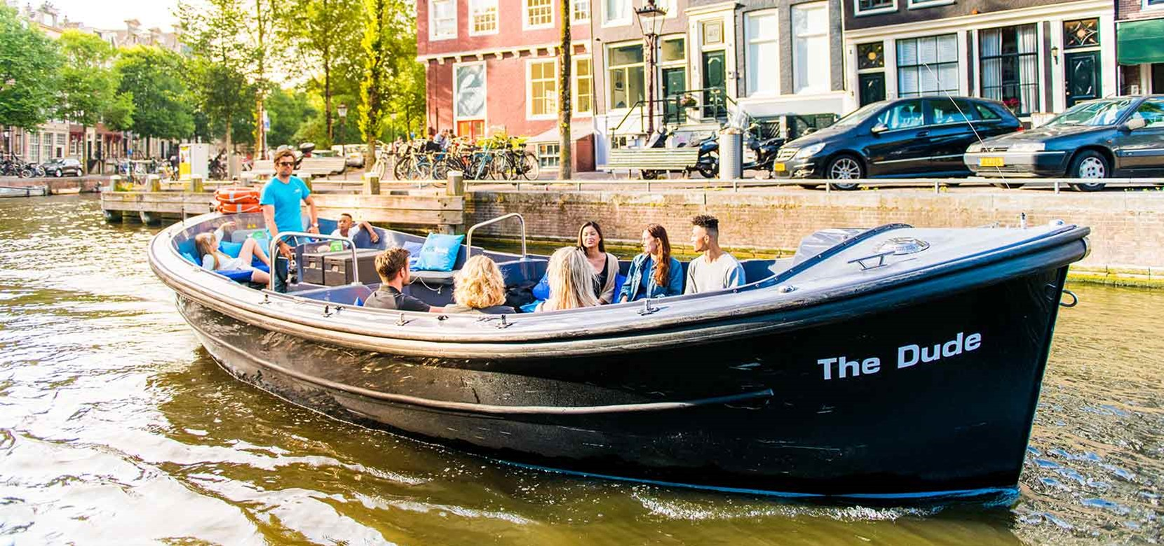 Small Boat Cruise (departs near the Anne Frank House)