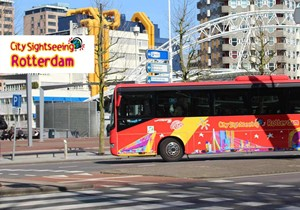 Hop On - Hop Off Rotterdam Bus Tour 24 H.