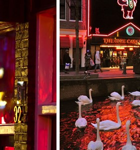 Red Light District Walking Tour + Casa Rosso