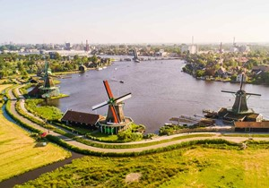The origin of the Dutch Windmills