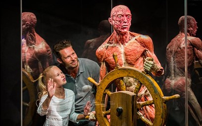 Father's Day in Body Worlds Amsterdam.