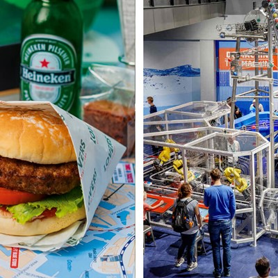 Burger Cruise + Nemo Science Museum