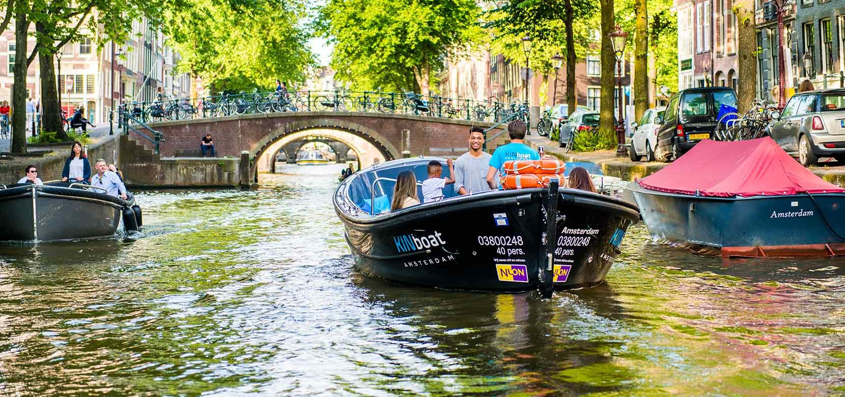 Small Boat Cruise (departs near the Rijksmuseum)