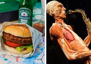 Burger Cruise + Body Worlds
