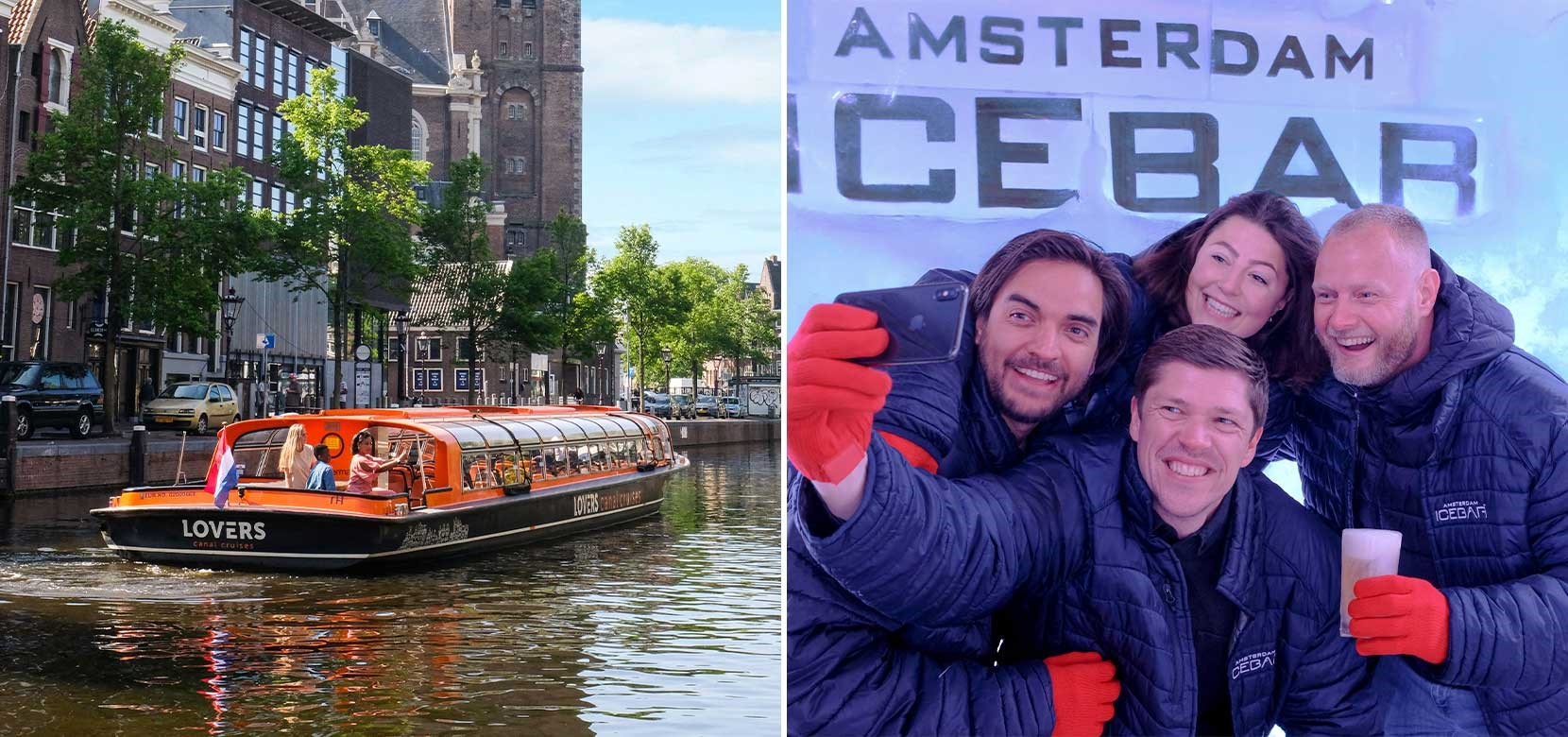 XtraCold Icebar + 1 h. Amsterdam Canal Cruise