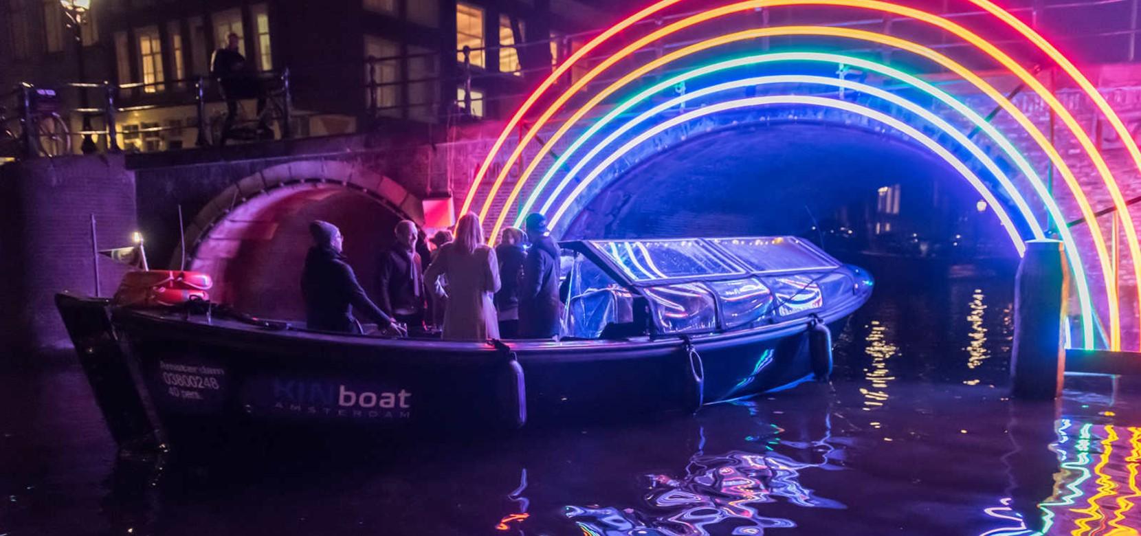 Amsterdam Light Festival Cruise – Small Boat