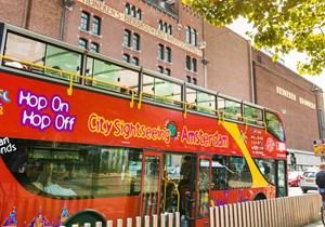City Sightseeing Hop on Hop off em Amsterdã (24 h. ou 48 h.)